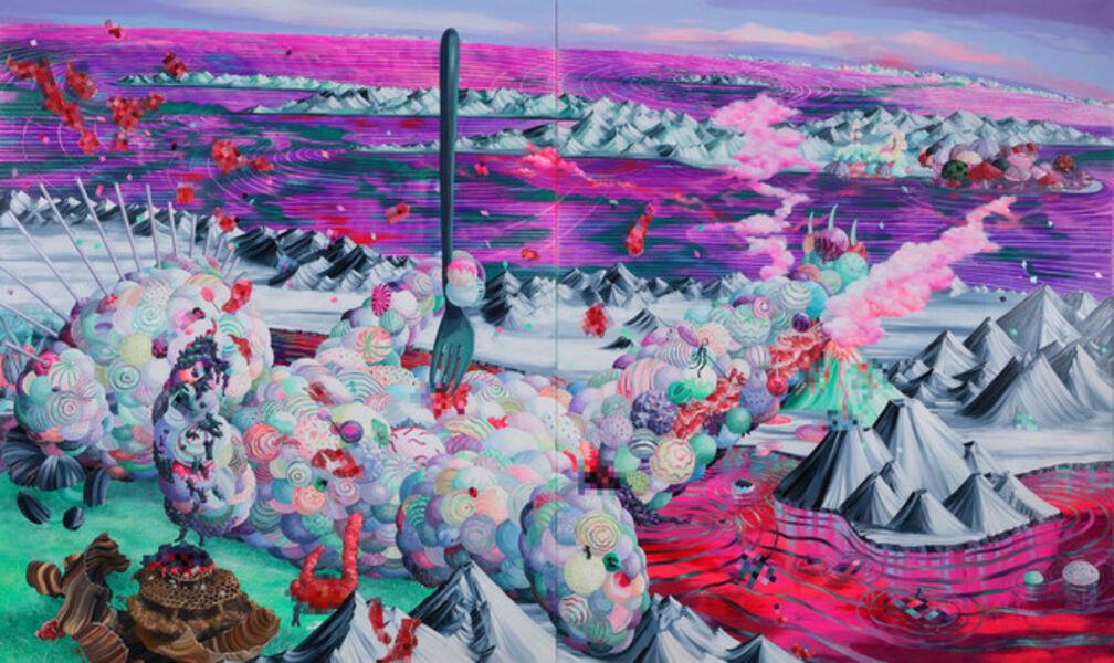 Eguchi Ayane, 'Lollipop Bear', 2018