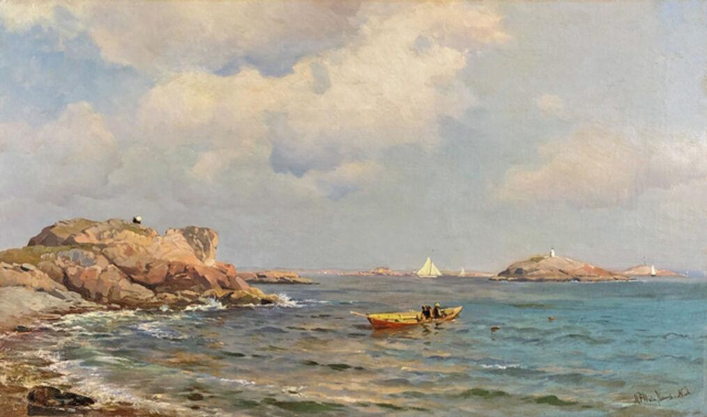Mauritz Frederik Hendrik de Haas, 'By the Shore', ca. 1870s–1880s