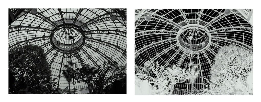 Invisible Architectures photographs by Penelope Stewart, installation view