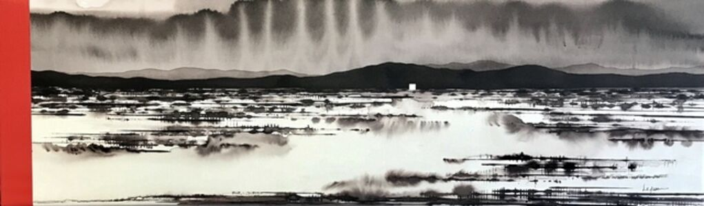David Middlebrook, 'Flooded Desert and Icons', 2019