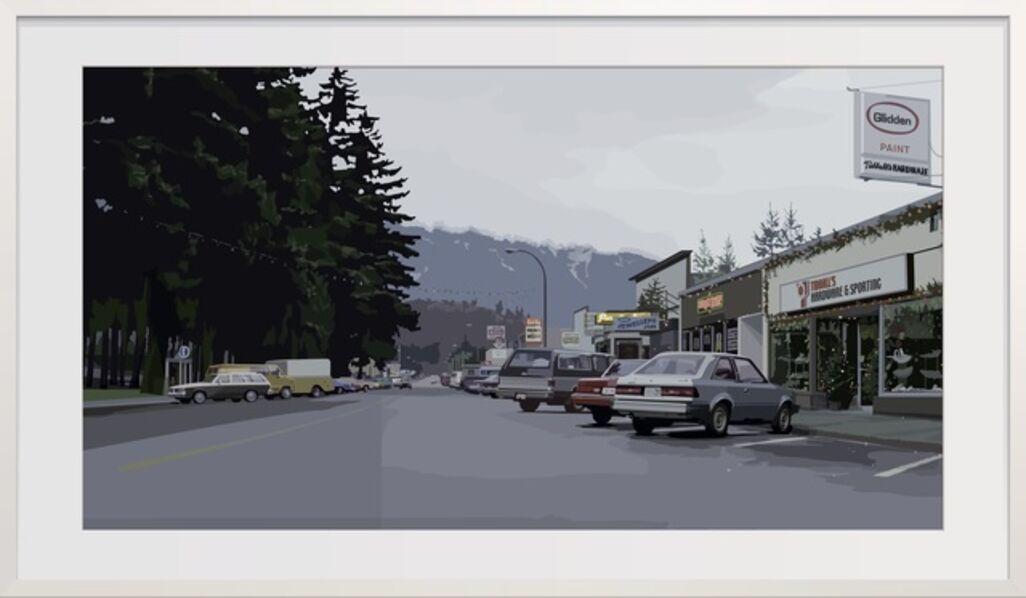 Alain Bublex, 'An American Landscape - Glidden Paint', 2019