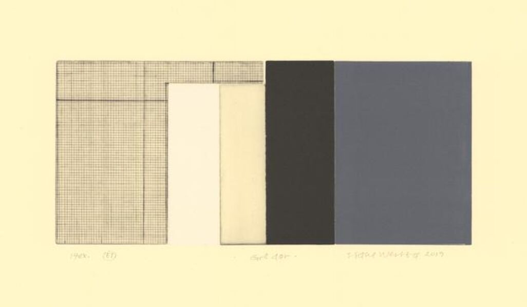 Sidsel Westbø, 'Gray door', 2019