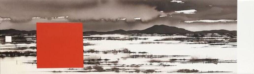 David Middlebrook, 'Approaching Rain, Central Australia', 2018