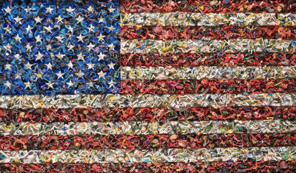 Willem Boshoff, 'Flag II', 2003