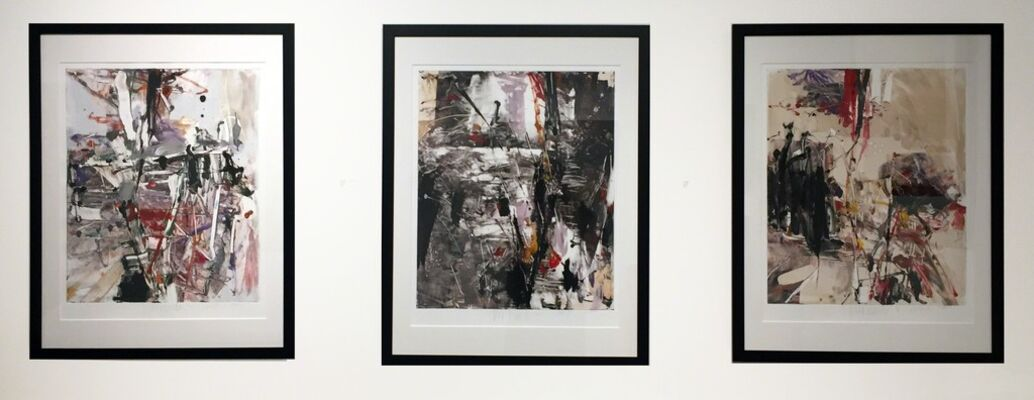 PETER WOYTUK--UNIQUE 2017, installation view
