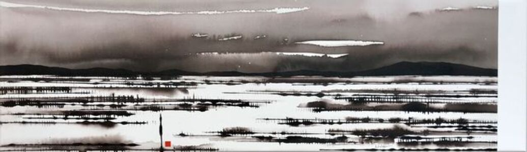 David Middlebrook, 'Promise of Rain, Central Australia', 2018
