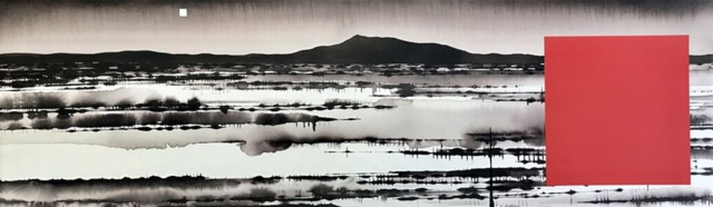 David Middlebrook, 'Floodplain, China and I', 2019