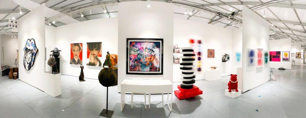 Galerie Vivendi at SCOPE Miami Beach 2019, installation view