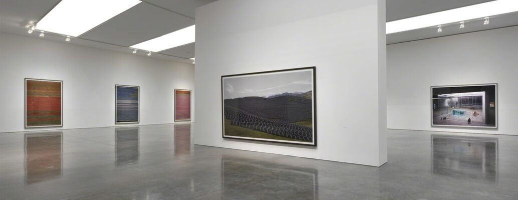 Andreas Gursky: Not Abstract II, installation view