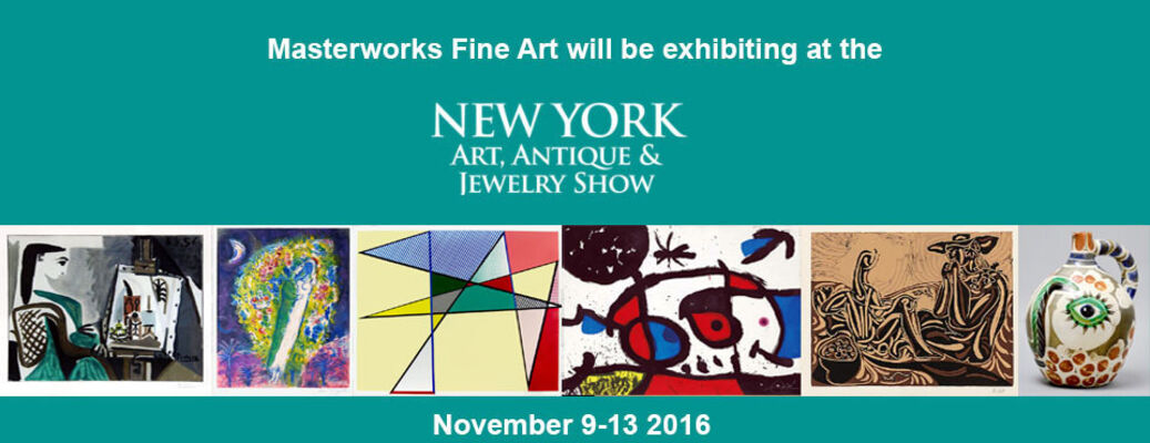 NY Fall Show Art Antiques and Jewelry 2016, installation view