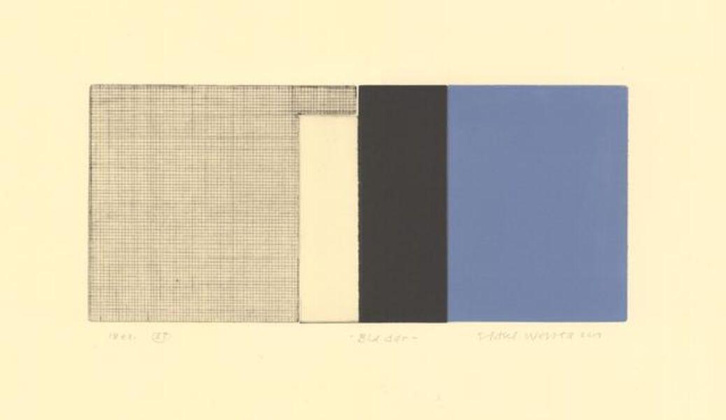 Sidsel Westbø, 'Blue door', 2019