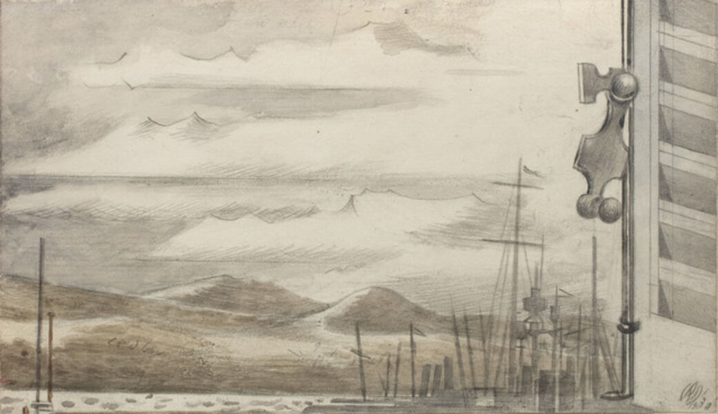 Paul Nash, 'The Fleet at Toulon, No. 1', 1930