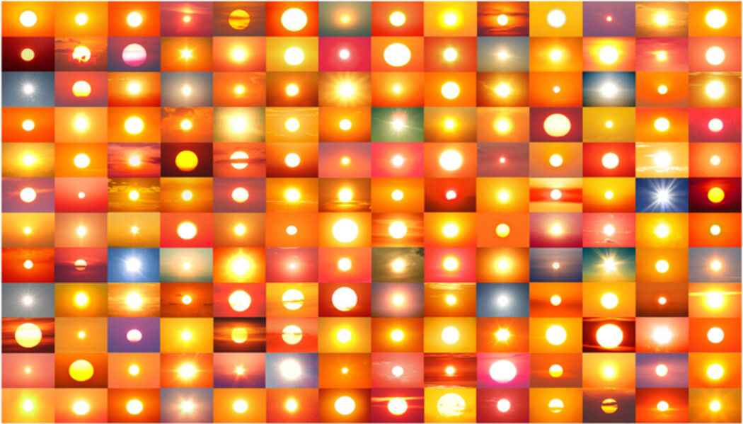 Penelope Umbrico, '39,019,893 Suns from Sunsets from Flikr (Partial) 11/12/18', 2018