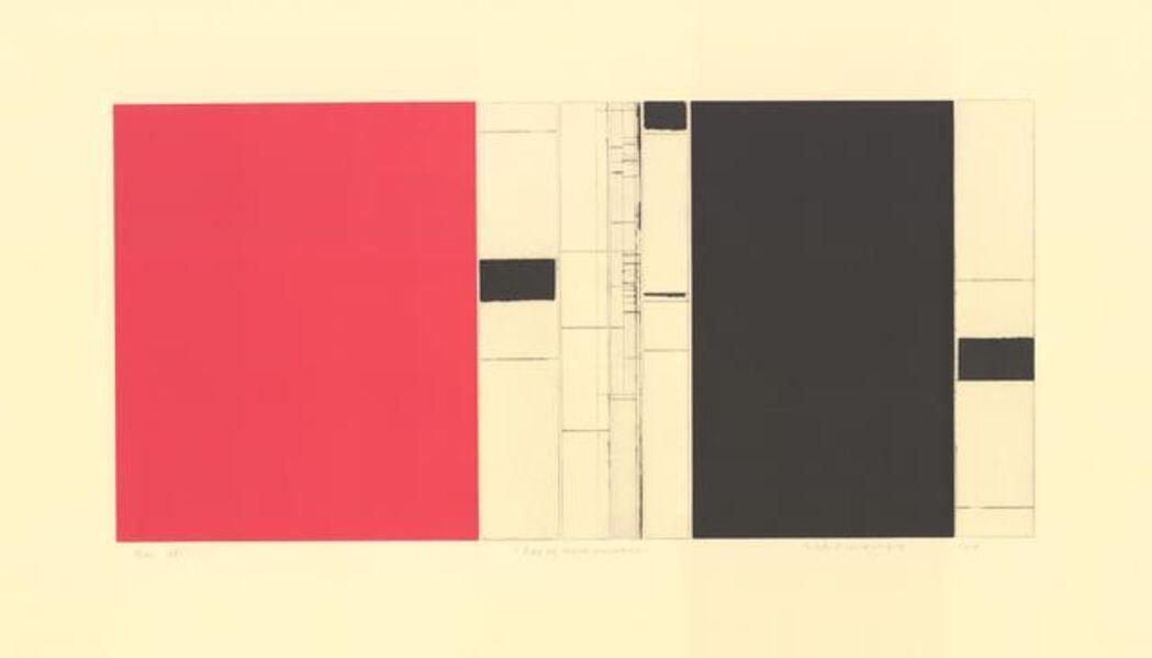 Sidsel Westbø, 'Red and black resonance', 2018
