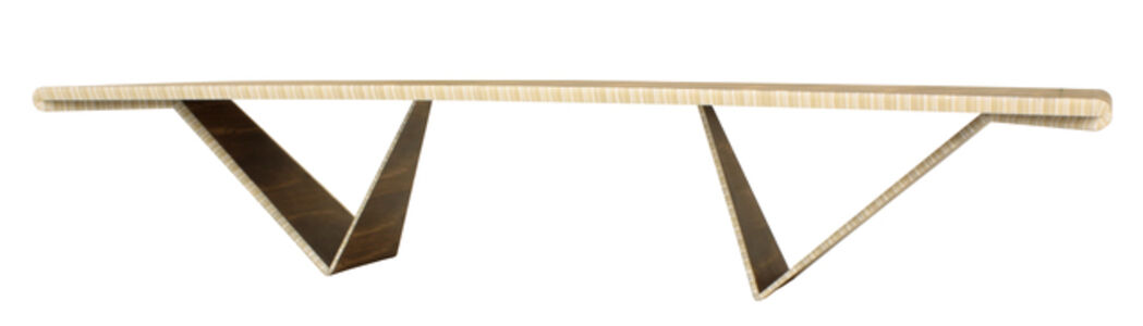 José Marton, 'Desdobramento dinning table in jacaranda and acrylic', 2015