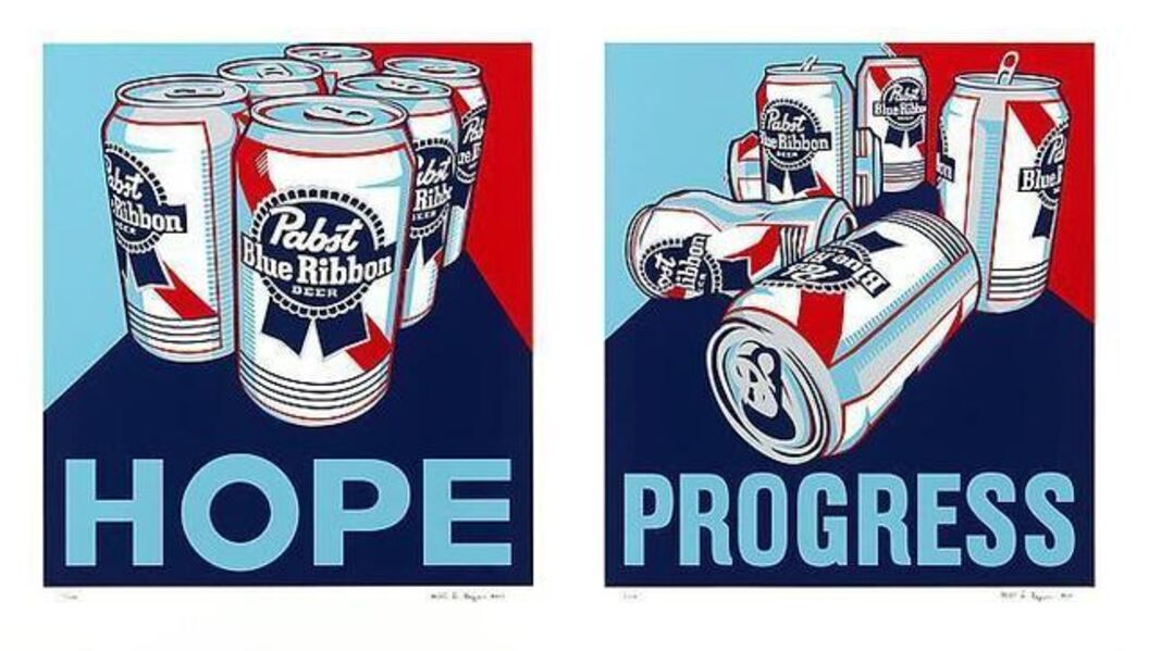 Steven Gagnon, 'Hope & Progress (Diptych)', 2010