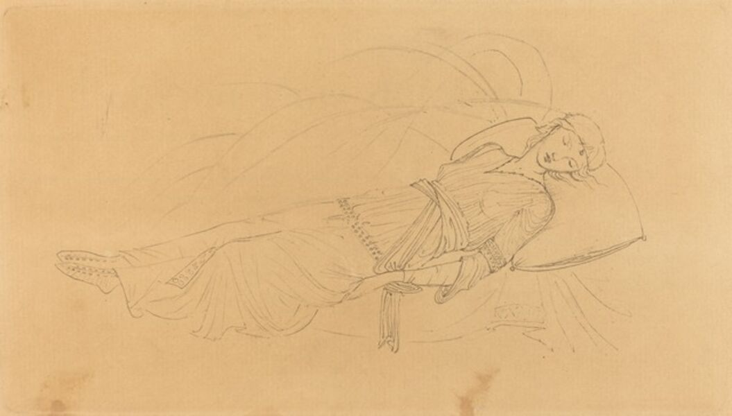 Sir Edward Burne-Jones, 'La Belle au bois dormant', 1894