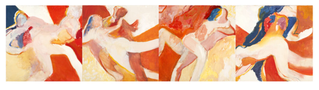 Barrie Cooke, 'Two (4 Panels) Two I / Two II / Two III / Two IV'