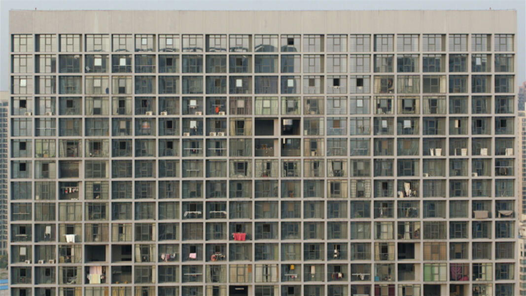 Zhang Peili, 'The Front View of an Apartment Building', 2013