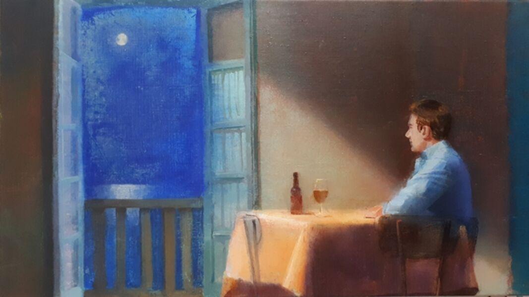 Alejandra Caballero, 'Luz de luna', 2019