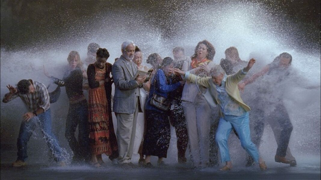 Bill Viola, 'Tempest (study for the Raft)', 2005