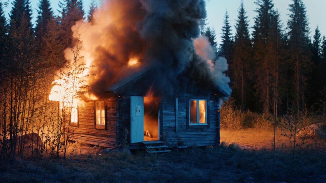 Ragnar Kjartansson, 'Scenes from Western Culture, Burning House', 2015