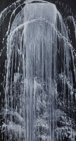 Pat Steir, 'Turbulent Mountain Waterfall', 1991