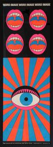Tadanori Yokoo, 'Word and Image', 1968