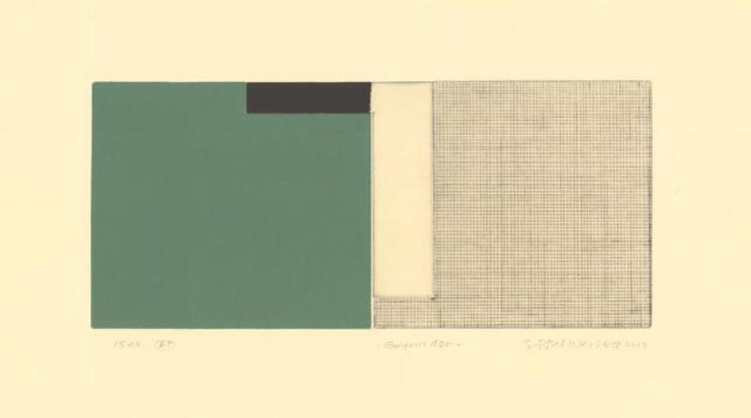 Sidsel Westbø, 'Green door', 2019