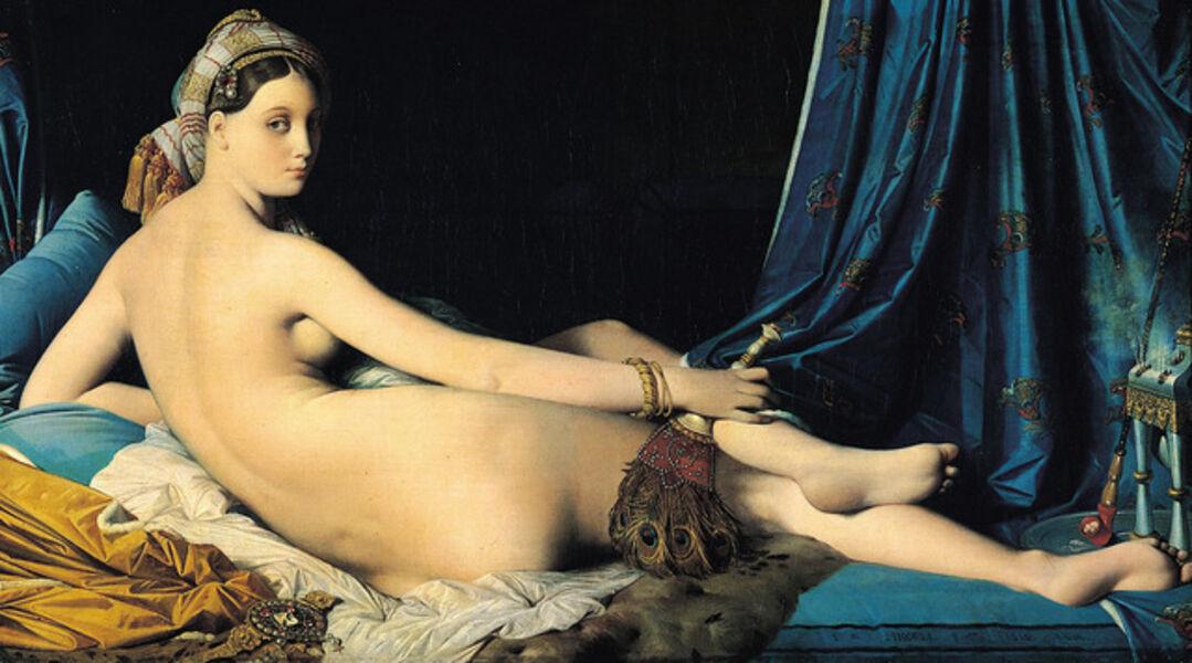 Jean-Auguste-Dominique Ingres, 'La Grande Odalisque', 1814