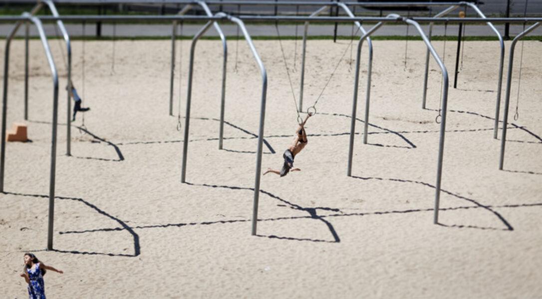 Susan Wides, 'Riverside Park [June 27, 2012]', 2012