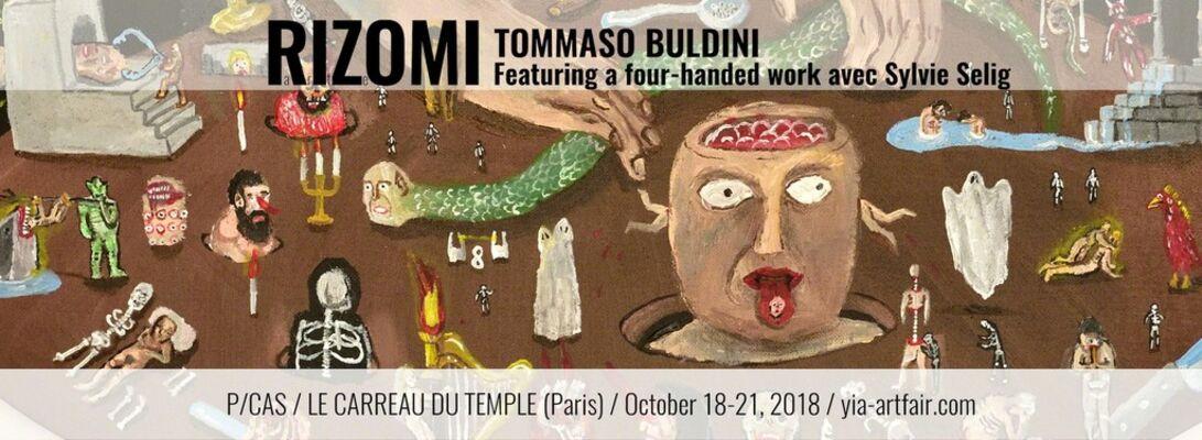 RIZOMI at P/CAS - Paris Contemporary Art Show by YIA ART FAIR 2018, installation view