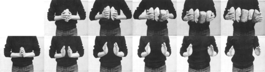 Keiji Uematsu, 'Interval - Five Stones II', 1975