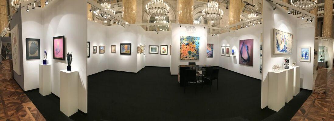 Galerie Kovacek & Zetter at Art & Antique 2018, Hofburg, Wien, installation view