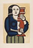 Femme à la cruche (after by Jacques Villon )