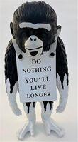 Banksy, 'Monkey Sign (Drip)', 2019