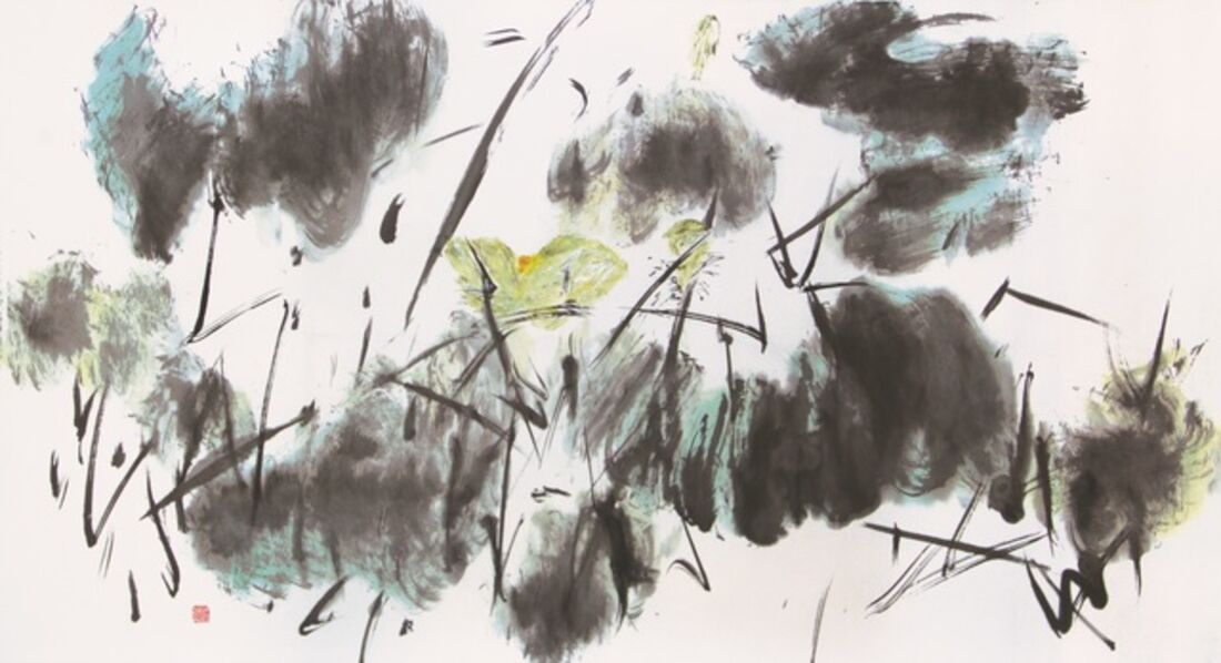 Chua Ek Kay 蔡逸溪, 'Scintillating Lotus Pond'
