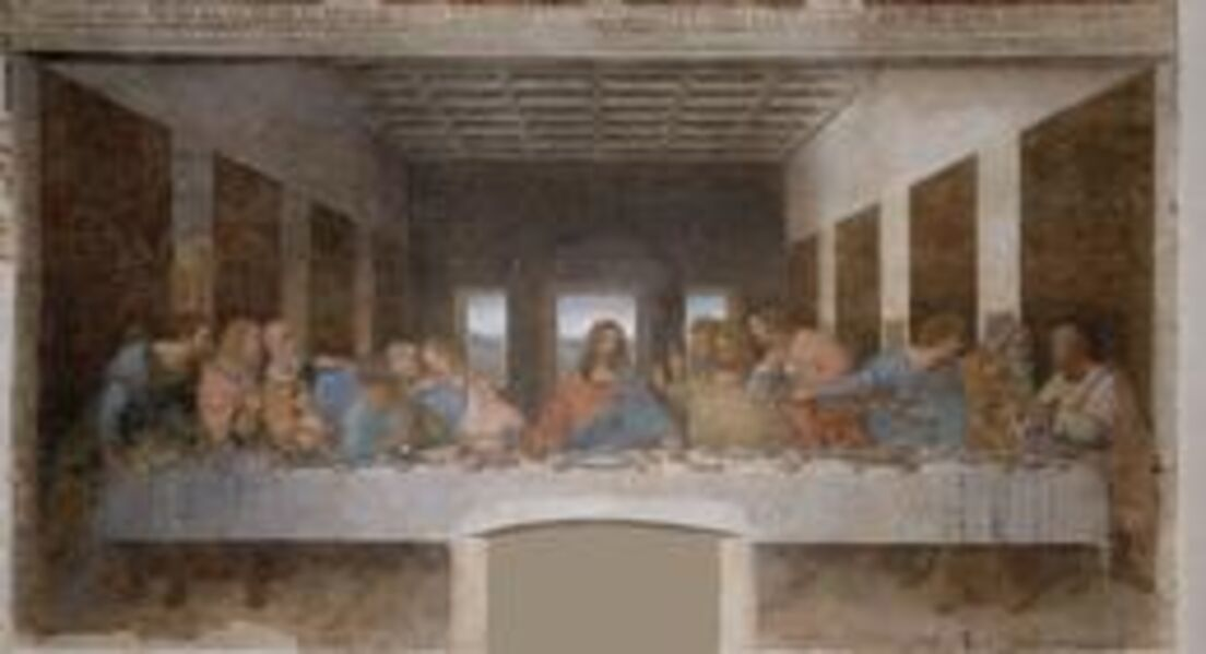 Leonardo da Vinci, 'The Last Supper', 1495-1498