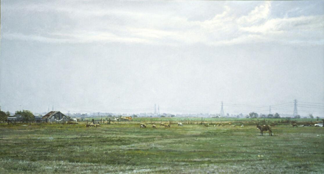 Richard McLean, 'Cordelia Winter (Smiling Barn)', 2002