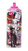 Mr. Brainwash, ''Love is the Answer, 2020' (pink) Spray Can', 2020