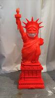 Ron English, 'Liberty Grin Figure ( Orange ) with base ', 2015
