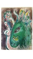 Marc Chagall, 'Original Lithograph depicting an instant of the Bible by Marc Chagall', 1960