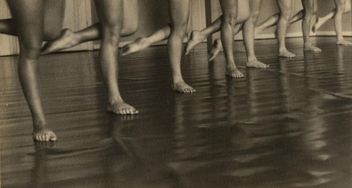 Ilse Bing, 'Laban Dance School, Frankfurt', 1929