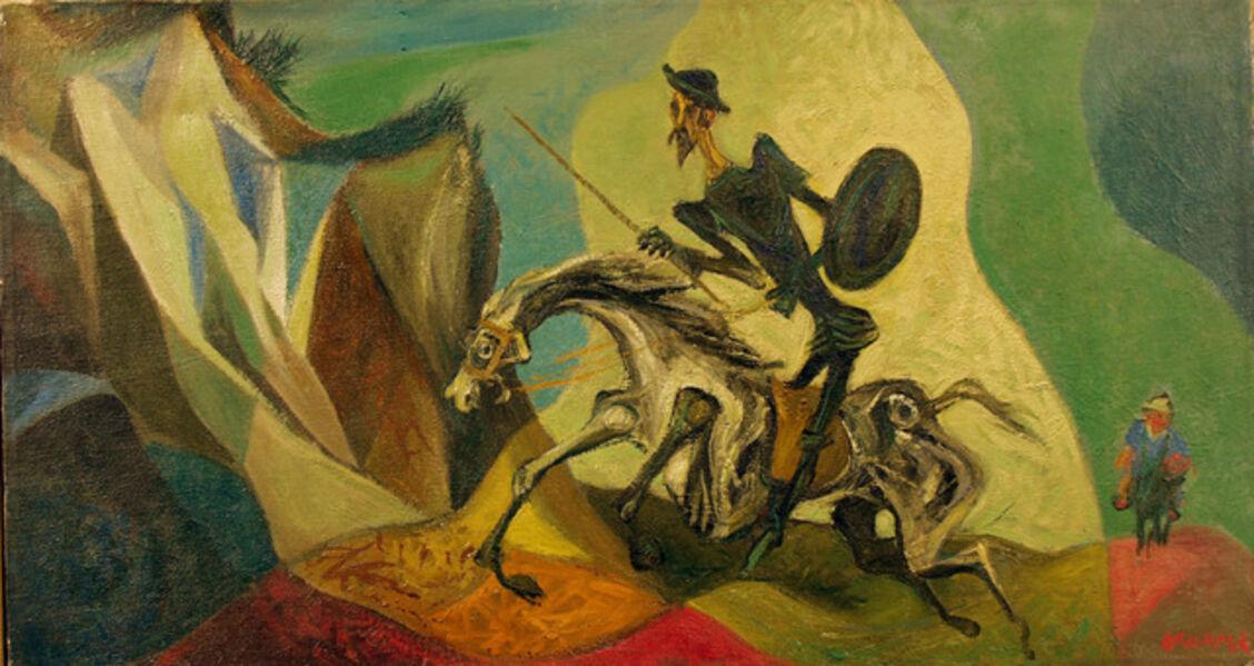 William Victor Gropper, 'Don Quixote', 1955