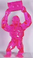 Richard Orlinski, 'Wild kong au bidon - Pink crystal', 2015
