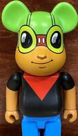 Hebru Brantley, 'Hebru Brantley Flyboy Bearbrick (Hebru Brantley BE@RBRICK 400%)', 2019