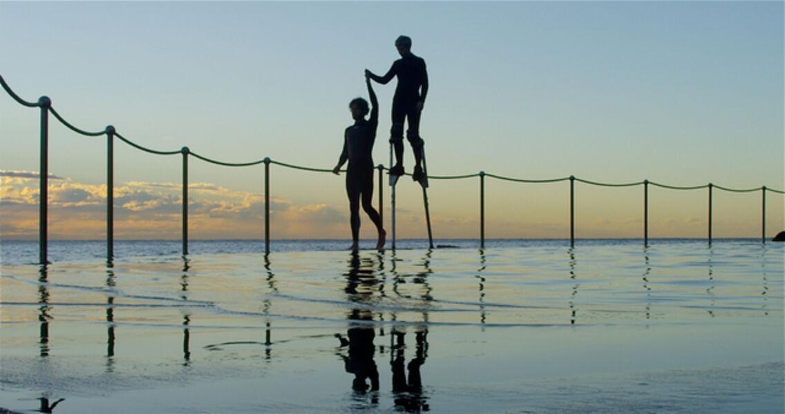 Shaun Gladwell, 'Flying Dutchman in Blue', 2013
