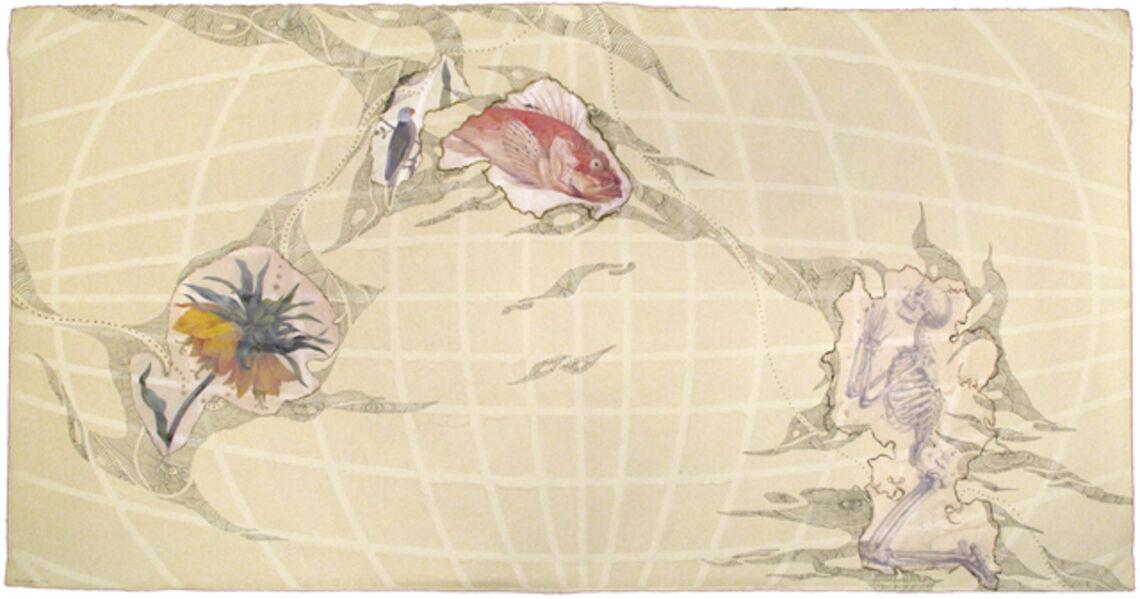 Abby Leigh, 'My Personal Atlas (horizontal)', 2004
