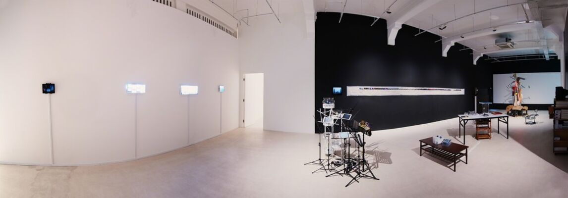 The Third Script: BOO JUNFENG & LINDA C.H. LAI two-person exhibition, installation view