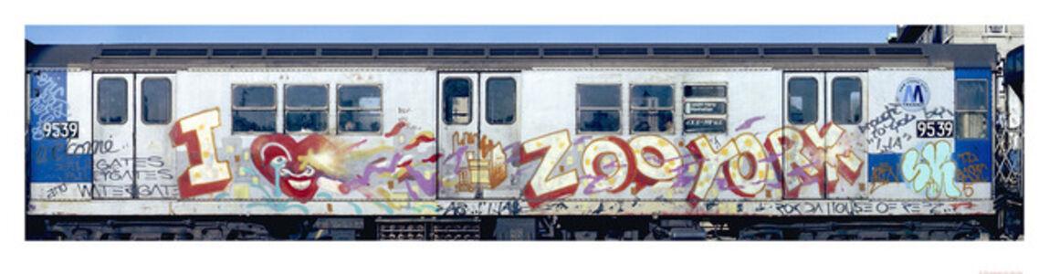 Henry Chalfant, 'I Love Zoo York by Ali', 1981